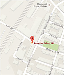 Leicester Bakery Map - Find Us on Google